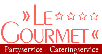 Le Gourmet Party-Service Logo